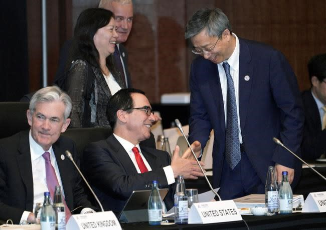 G20 finance officials pledge to protect global growth