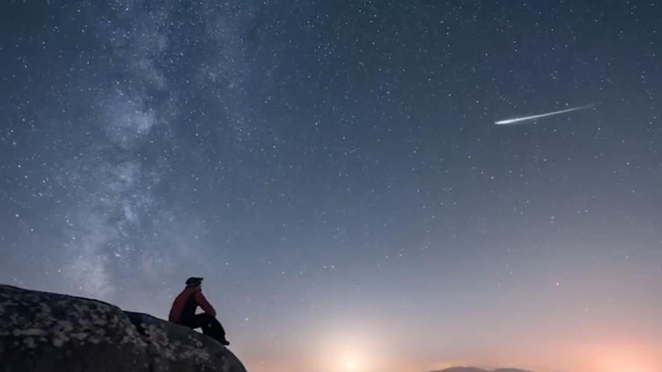 Look up tonight to see the peak of the Leonid Meteor Shower
