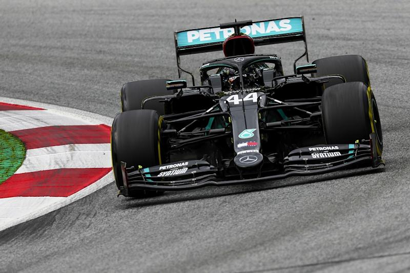 Hamilton leads another Mercedes 1-2 in FP2, Perez third