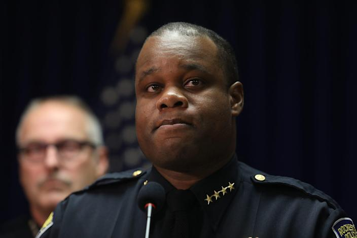 Rochester Police Chief La'Ron Singletary was relieved of his command Monday.
