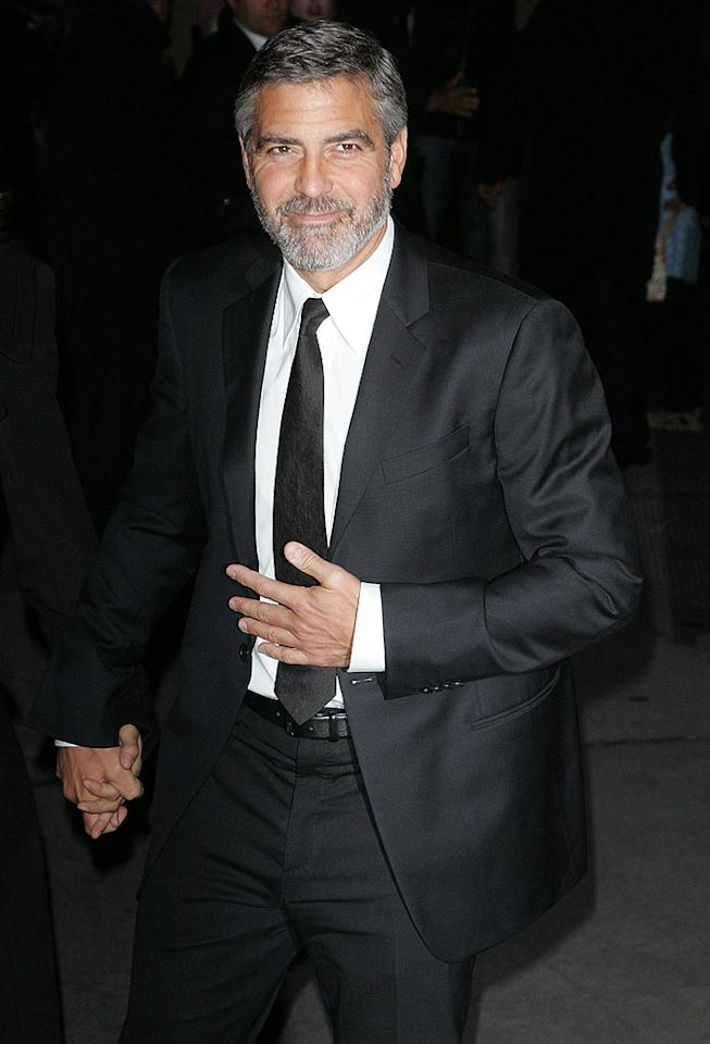 """A true prince, George Clooney, seen here attending the 2010 National Board of Review Awards Gala in New York City, announced soon after the devastating earthquake in Haiti that he would be hosting the """"Hope for Haiti"""" telethon with MTV to raise funds for the embattled country. The fundraiser will be shown on all the major networks, and is scheduled to air Friday, January 22. Jim Spellman/<a href=""""http://www.wireimage.com"""" target=""""new"""">WireImage.com</a> - January 12, 2010"""