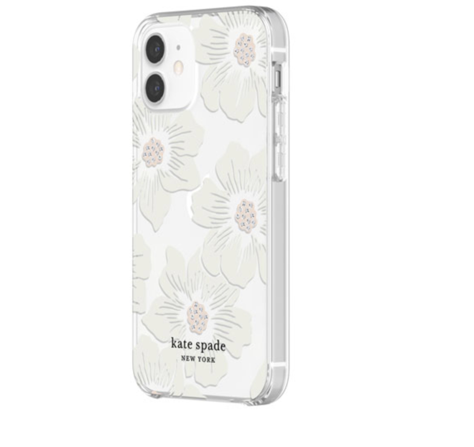 Kate Spade New York Fitted Hard Shell Case for iPhone 12 mini on sale for Best Buy Canada.