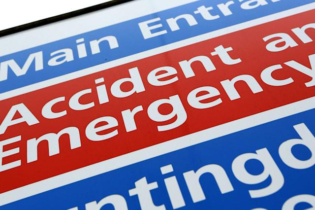 Accident and Emergency Signage