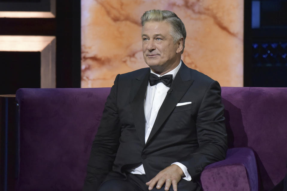 Alec Baldwin participates in the Comedy Central roast of Alec Baldwin at the Saban Theatre on Saturday, Sept. 7, 2019, in Beverly Hills, Calif. (Photo by Richard Shotwell/Invision/AP