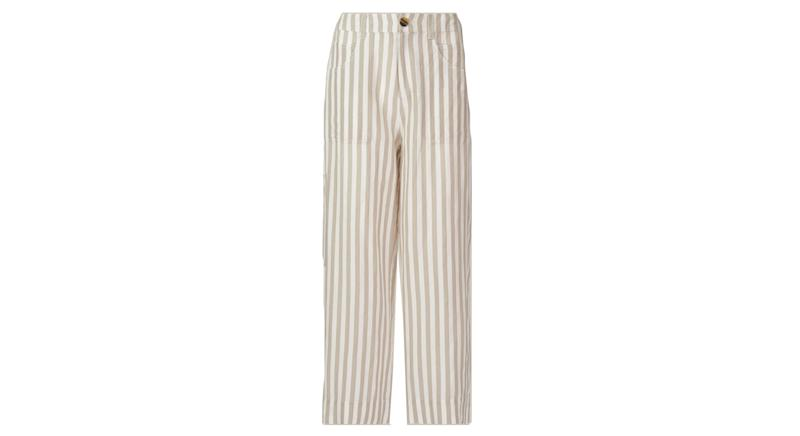 Linen Stripe Trouser