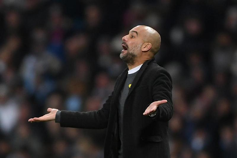 Guardiola's City lost their first home game since December 2016: Getty Images
