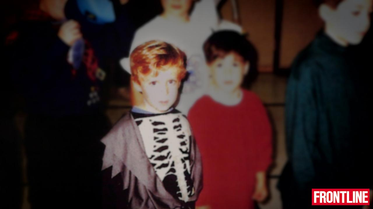 Adam Lanza wearing a skeleton costume, Halloween 1995. Adam was diagnosed with sensory integration disorder a few years after this photo was taken. (Frontline)