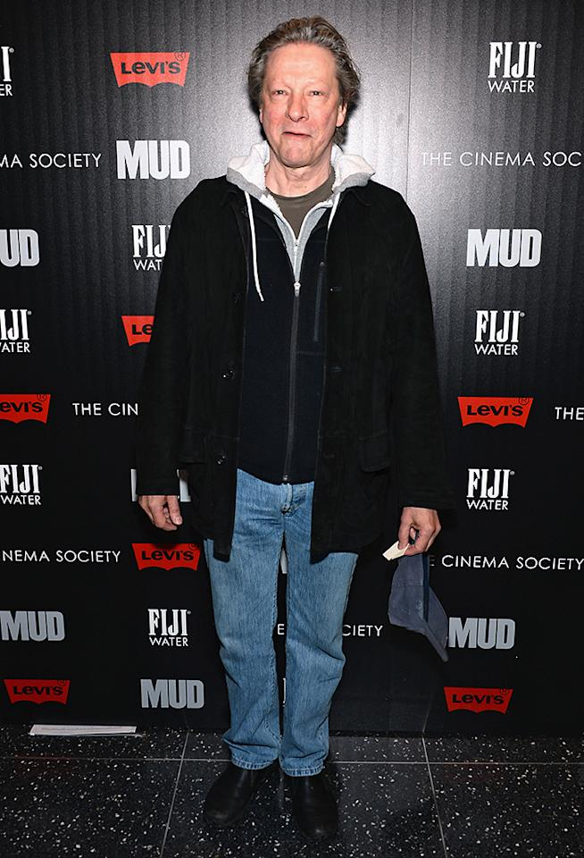"NEW YORK, NY - APRIL 21: Actor Chris Cooper attends The Cinema Society With FIJI Water & Levi's screening of ""Mud"" at The Museum of Modern Art on April 21, 2013 in New York City.  (Photo by Dimitrios Kambouris/Getty Images)"