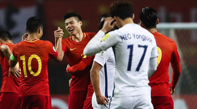 SEOUL, South Korea (AP) - Marcello Lippi earned his biggest win since taking over as coach of China's national soccer team, leading his squad to a 1-0 victory over South Korea on Thursday in a World Cup qualifier.