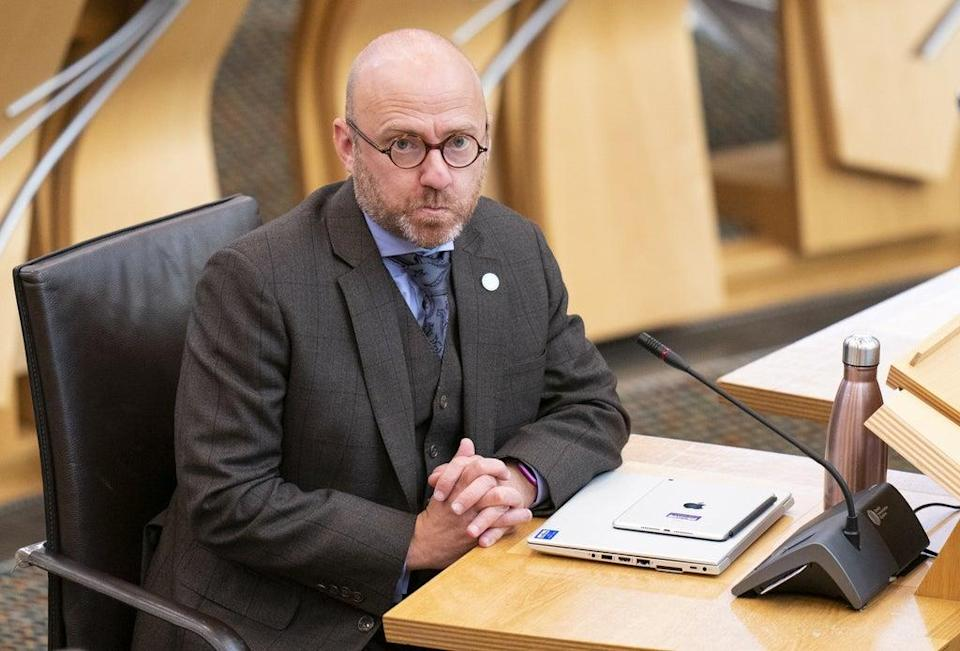 Mr Harvie became a minister in the Scottish Government as a result of the deal between his party and the SNP (Jane Barlow/PA) (PA Wire)