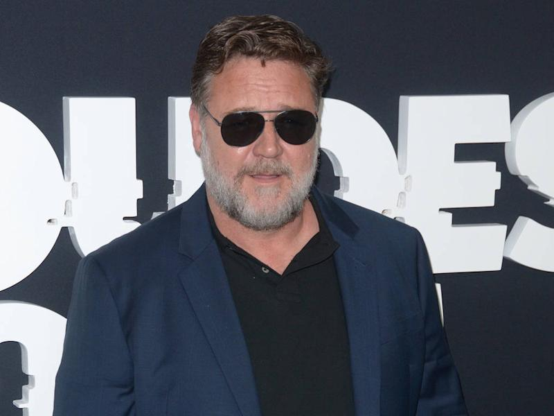 Russell Crowe celebrated Golden Globe win with family amid bushfire relief efforts