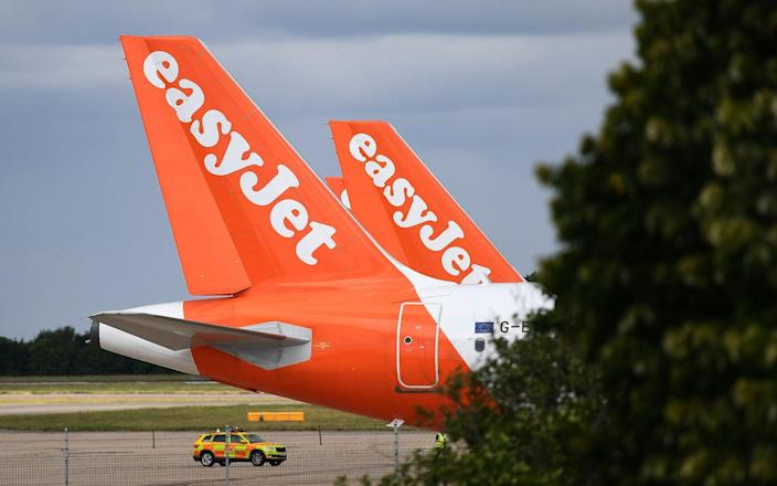 easyJet shares have dropped hardest - Getty