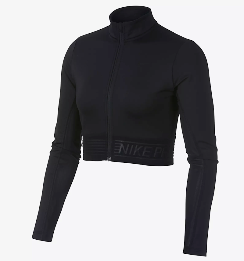 Nike Pro Women's Long Sleeve Top, $70, available at Nike.