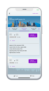 Customers will be able to manage their own accounts within the app to allow for faster booking and boarding.