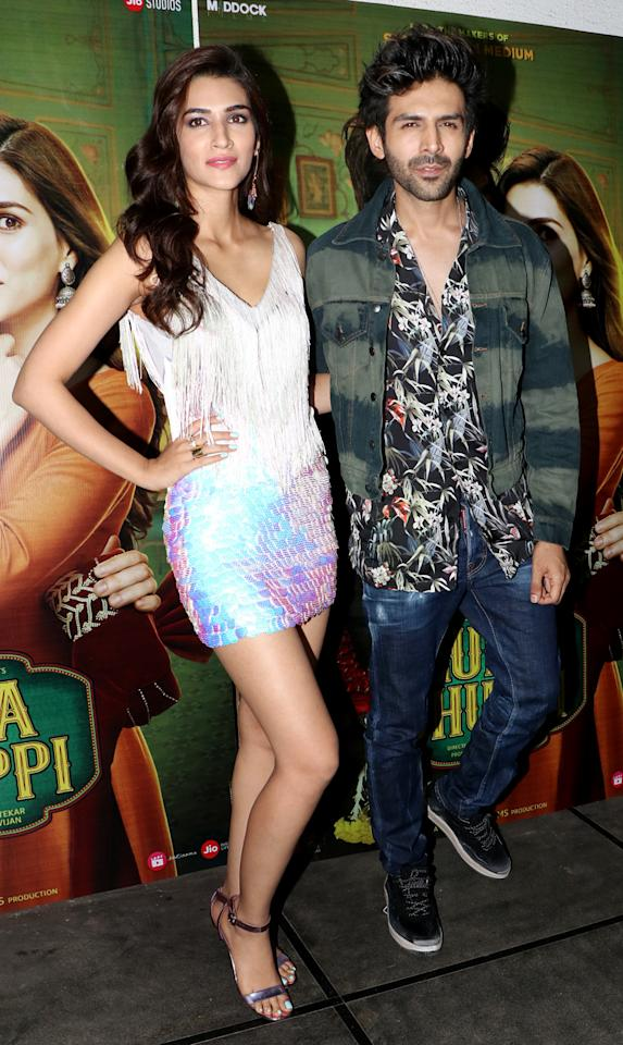 <p>'Luka Chuppi' success bash </p>