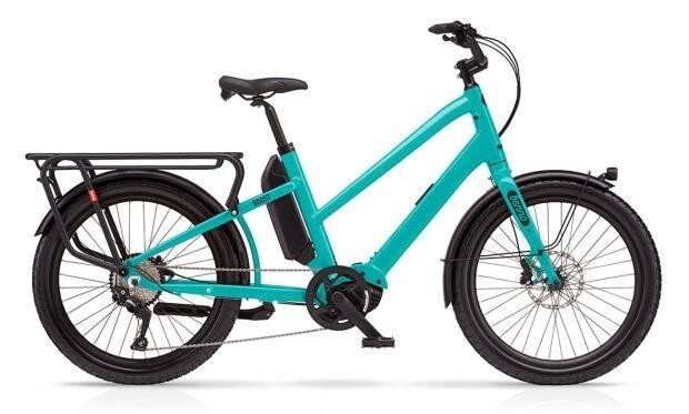 Sarah Murray of Whitehorse had her $5,000 teal blue Benno Boost e-bike, similar to the one pictured here, stolen in the city's downtown. Police say bike theft is a growing problem in Yukon and elsewhere. (Benno - image credit)