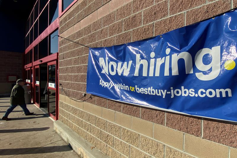 USA jobless claims decrease to lowest level in five weeks