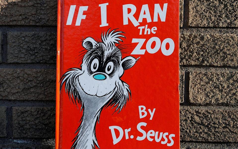 If I Ran A Zoo by Dr Seuss, one of six of his books ceasing publication in the US - Reuters