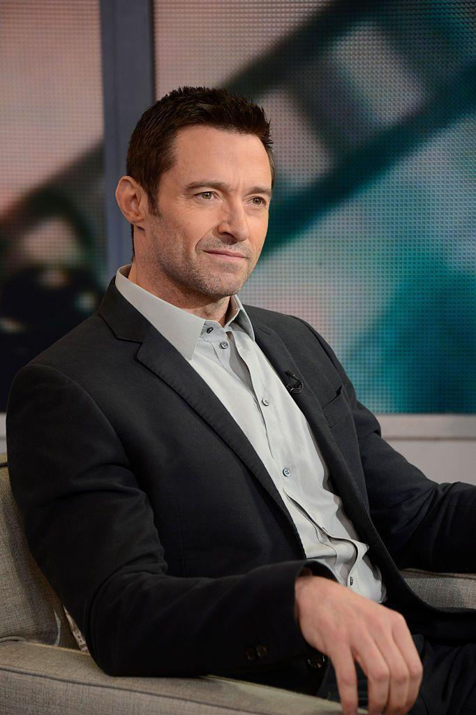 <p>Jackman's rarely ever <em>clean</em> shaven. It's like the man was just born with great-looking stubble.</p>