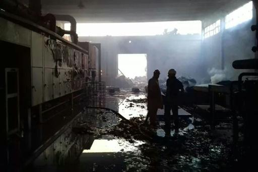 Mob torches factory in Pakistan following blasphemy accusation