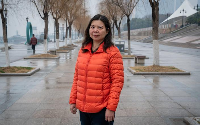Yao Qing is among the few remaining Wuhan citizens attempting to sue the Chinese government - Yan Cong for the Telegraph