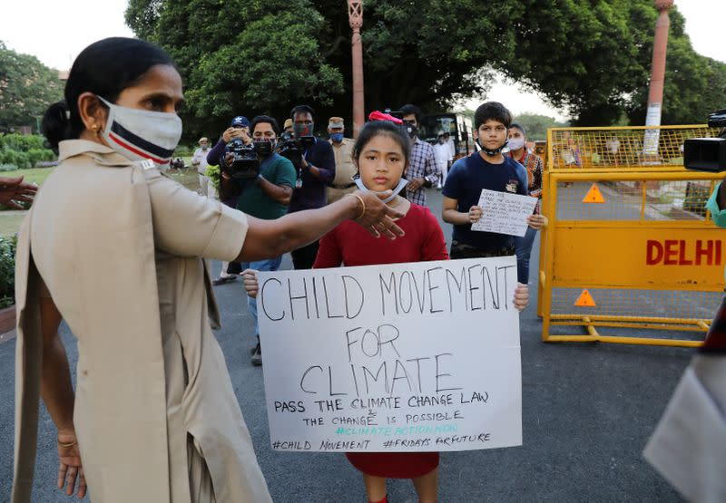 'Planet is dying', India's 8-year-old climate crusader warns