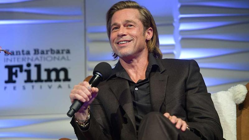 Brad Pitt Jokes About All the Signs He's Getting Old