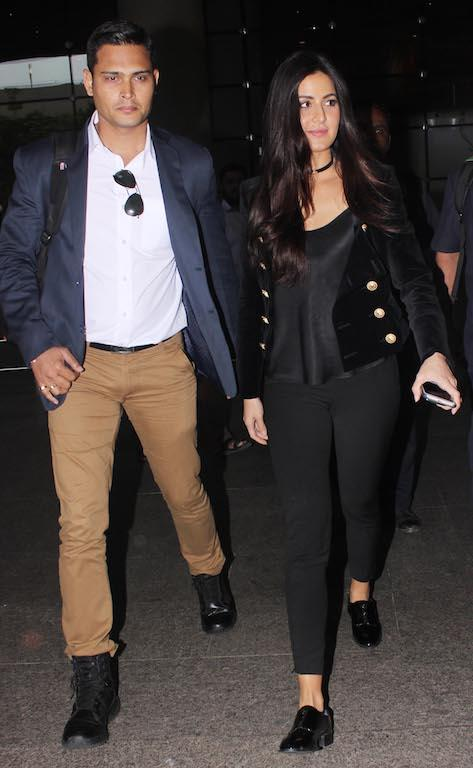 Meet Dilip Singh, Katrina Kaif's dashing bodyguard. Spotted alongside the actress many a times, it's no surprise that Dilip Singh started getting film offers as well. A son of an army officer, he has served many popular celebs, from Shah Rukh Khan to Madhuri Dixit, Anil Kapoor, Ranveer Singh and Rani Mukerji, Sachin Tendulkar and many international celebrities.