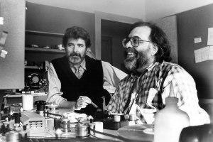 George Lucas (L) and Francis Ford Coppola.