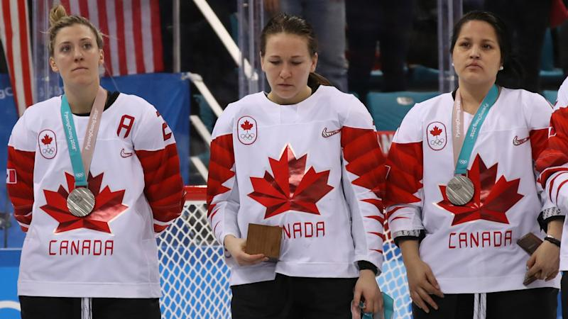 Canada's Jocelyne Larocque explains refusal to wear silver medal after loss to USA