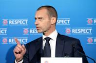 UEFA president Aleksander Ceferin welcomed the withdrawal by the English clubs