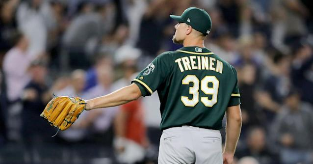 The A's have a decision to make with Blake Treinen