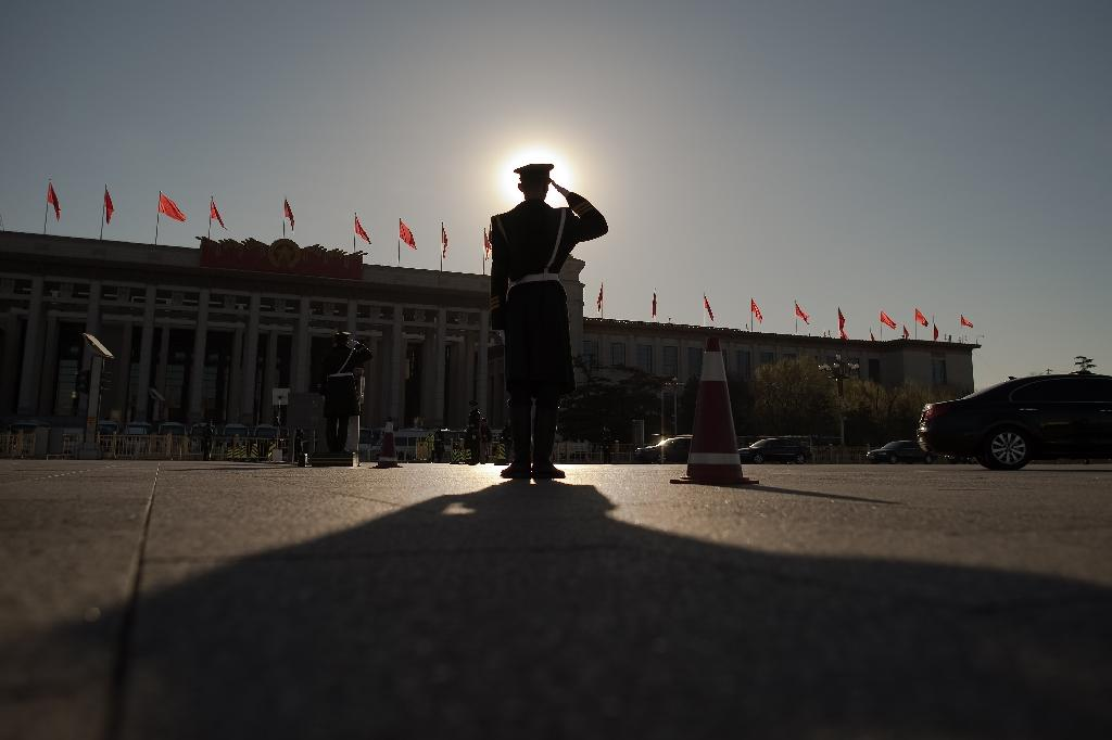 China's annual congress is the world's largest parliamentary gathering, but is seen as a rubber-stamp session for the Communist Party (AFP Photo/NICOLAS ASFOURI)