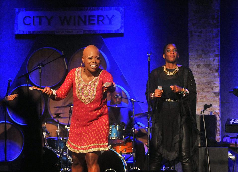 Shelby J (left) and Liv Warfield - Credit: Henry S. Dziekan III/Getty Images