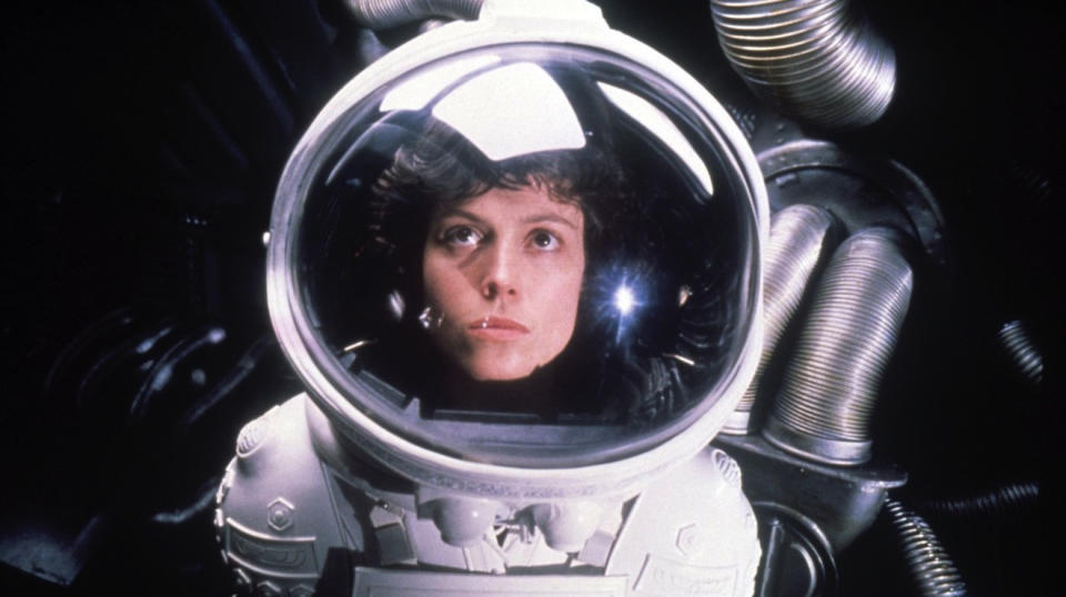 Sigourney Weaver in 'Alien'. (Credit: Fox)