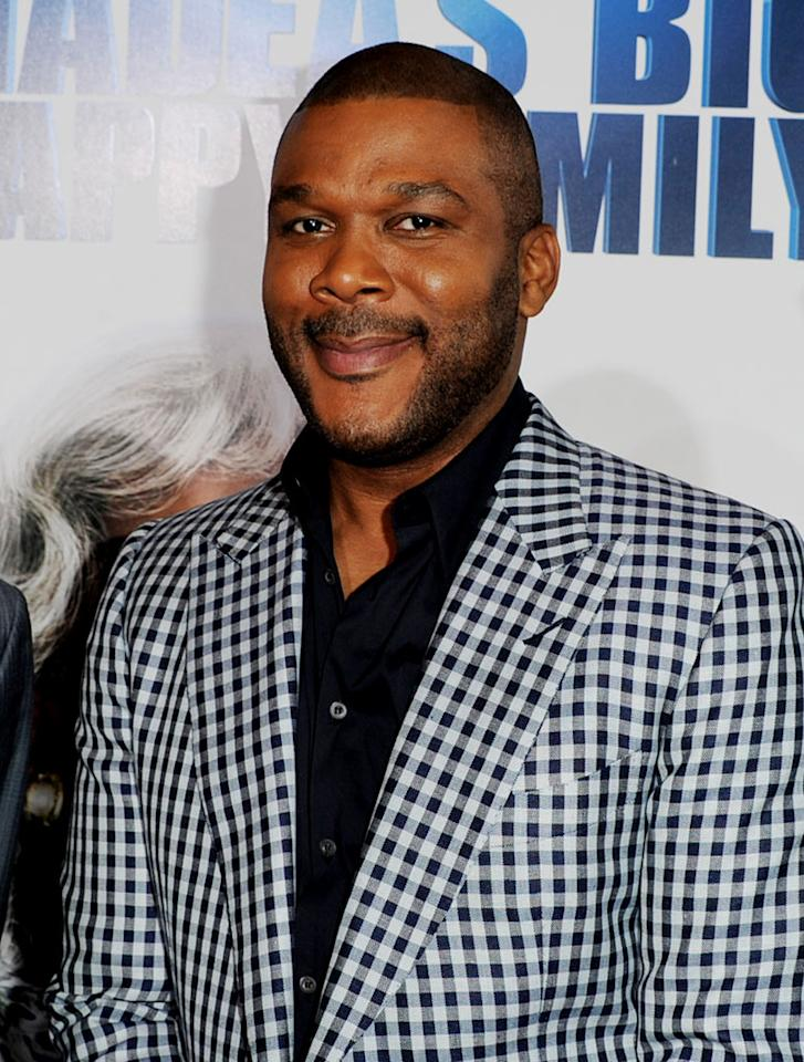 """Director/actor Tyler Perry turns 42. Kevin Winter/<a href=""""http://www.gettyimages.com/"""" target=""""new"""">GettyImages.com</a> - April 19, 2011"""