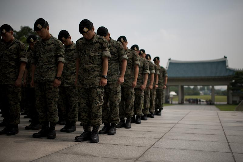 South Korea's military law bans homosexual activity by army personnel (AFP Photo/ED JONES)