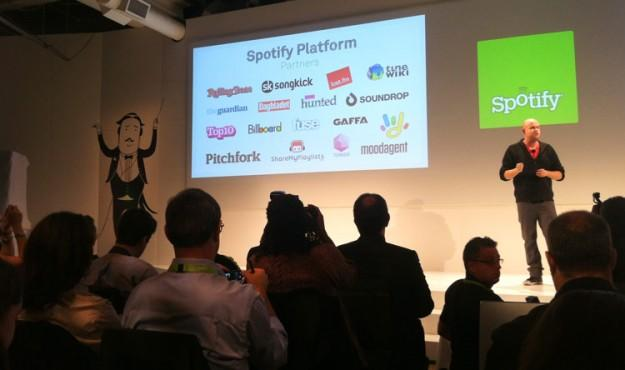 Spotify joins the apps business: unveils new music app platform