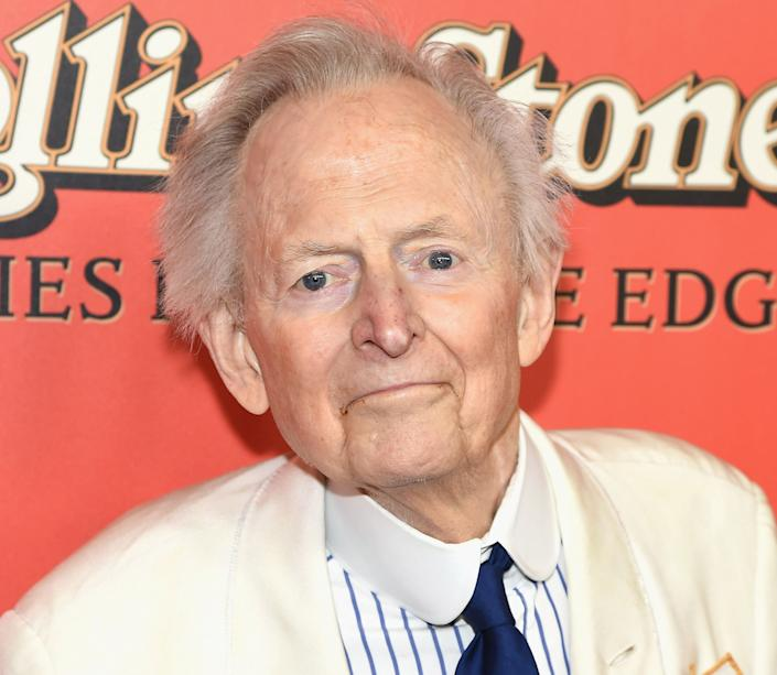 """Tom Wolfe, the innovative writer who chronicled the early days of the U.S. space program and the rise of 1960s counterculture before becoming a novelist with his classic """"Bonfire of the Vanities,"""" died on May 14, 2018 at the age of 88."""