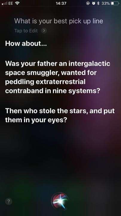funny questions to ask siri pick up 1