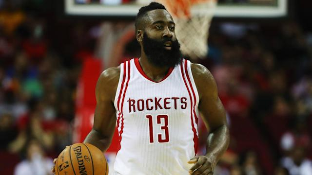 James Harden and the Houston Rockets tasted defeat for the first time since January 27 – upstaged 115-112 in Toronto on Friday.
