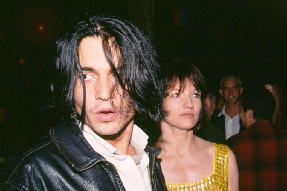 <p>Despite a nine-year age gap, Depp also dated actress Ellen Barkin for a time in 1994.</p>