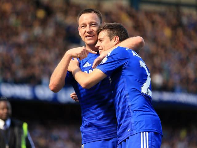 A fourth Premier League title arrived for Terry in 2015 (Mike Egerton/PA)