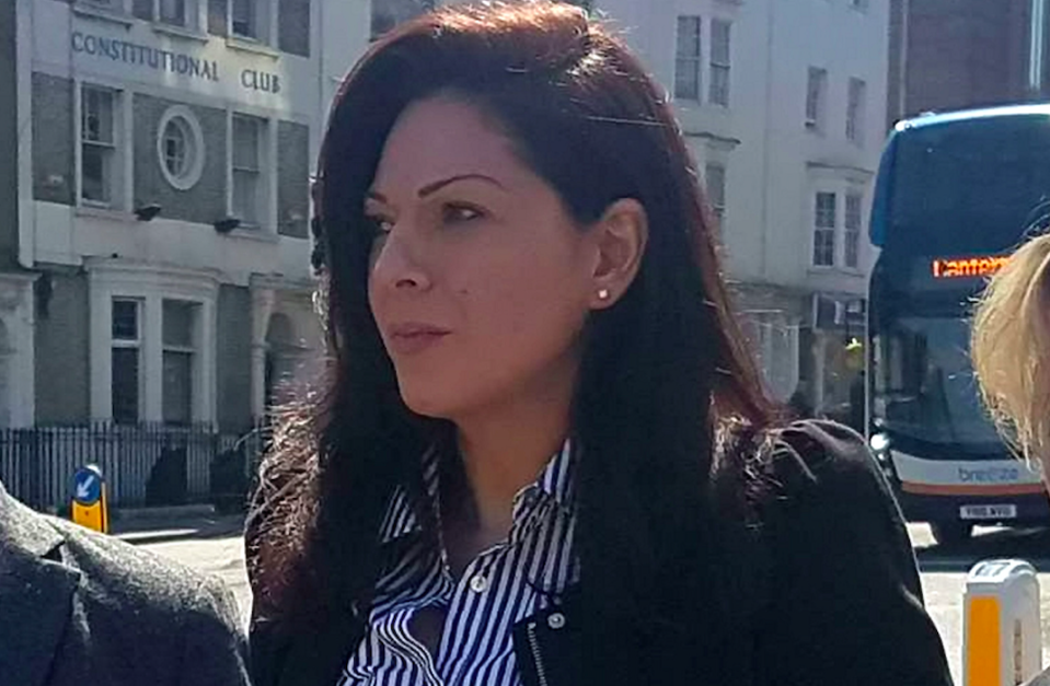 Nicole Elkabbas is accused of faking a deadly cancer to rake in £45,000 from well-wishers. (SWNS)