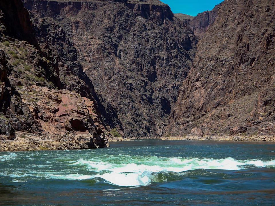 James Crocker, a 63-year-old from Lakewood, Colorado, drowned near Hance Rapid while boating in Grand Canyon National Park on Monday.