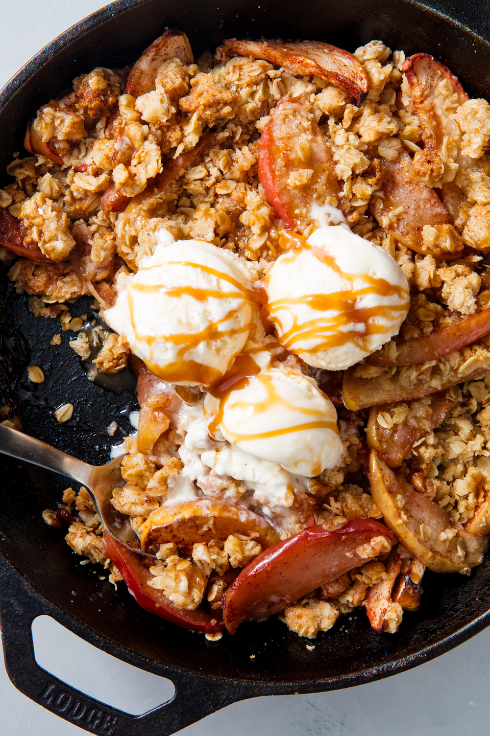 """<p>Anyone can make a good apple crisp, even if they """"hate to bake."""" Follow our top tips and you'll be making this stunner of a recipe all fall long. </p><p>Get the recipe from <a href=""""https://www.delish.com/cooking/recipe-ideas/a21581218/best-apple-crisp-recipe/"""" rel=""""nofollow noopener"""" target=""""_blank"""" data-ylk=""""slk:Delish"""" class=""""link rapid-noclick-resp"""">Delish</a>.</p>"""