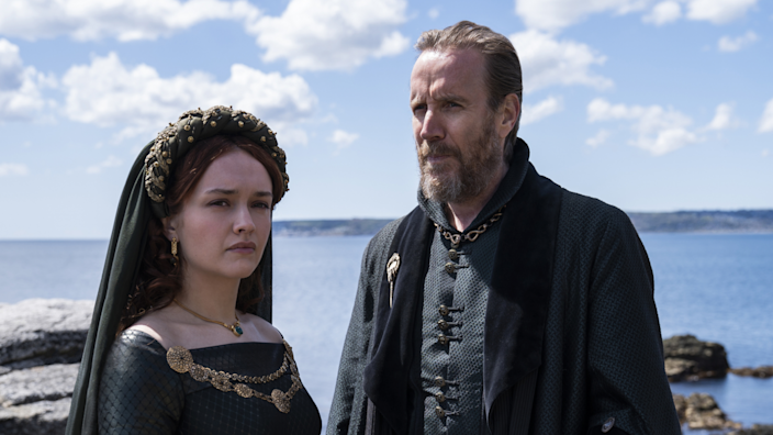 Olivia Cooke and Rhys Ifans star in the 'Game of Thrones' prequel.
