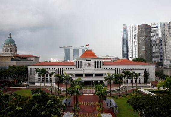 FILE PHOTO – A general view of the Parliament House in Singapore June 2, 2016. REUTERS/Edgar Su/File Photo