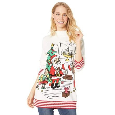 Whoopi Unisex Happy Holidays to All Sweater. (Photo: Amazon)