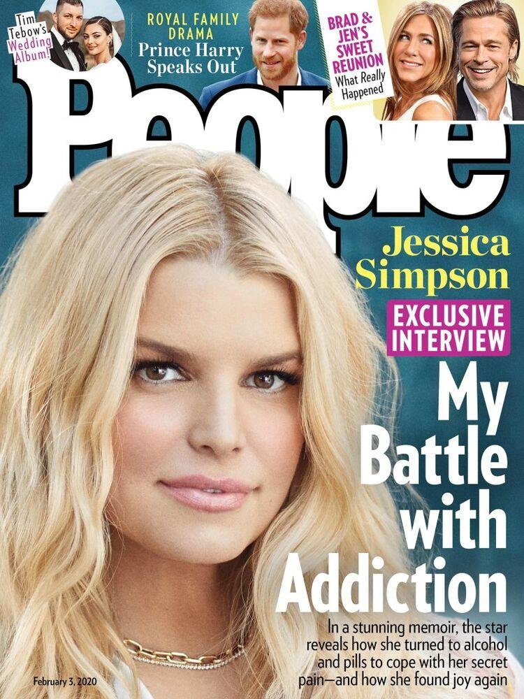 Jessica Simpson on the cover of PEOPLE | Mike Rosenthal